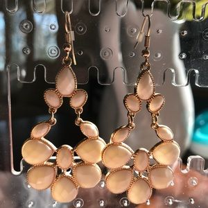 Boutique white chandelier earrings